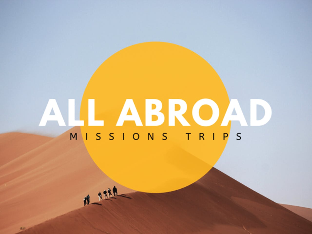 The Problem with Short-Term Mission Trips
